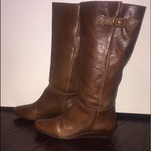 Steven by Steve Madden Brown Riding Boots